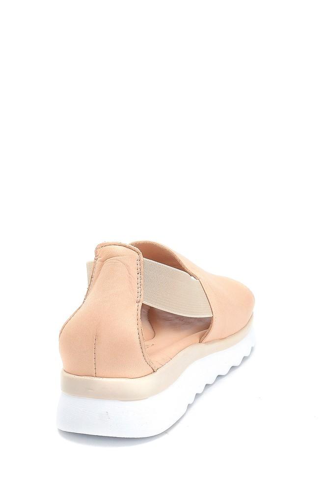 5638280140 Kadın Casual Deri Sandalet