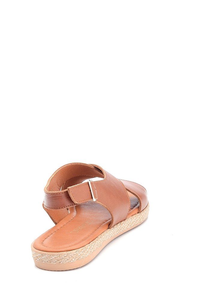 5638260033 Kadın Casual Deri Sandalet