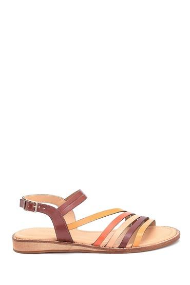 Multi Renk Kadın Deri Sandalet 5638261972