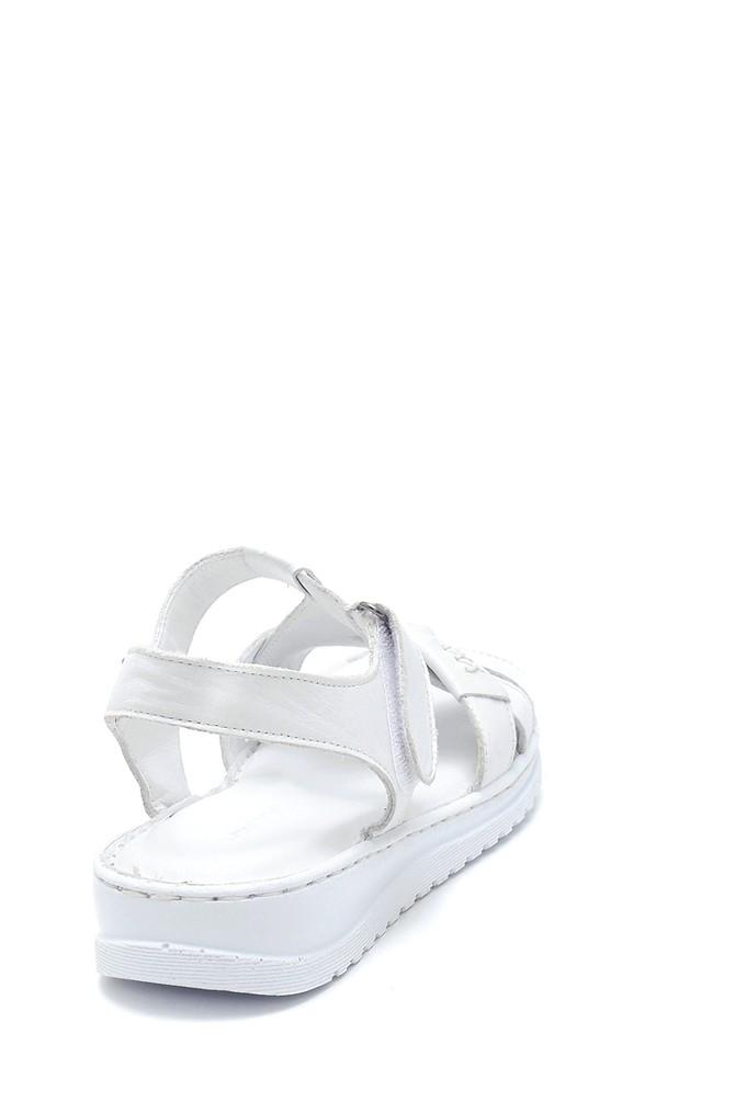 5638273668 Kadın Deri Sandalet