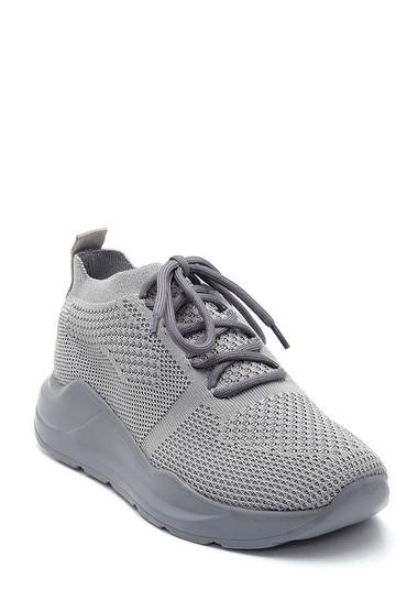 Gri Kadın Çorap Sneaker 5638291862