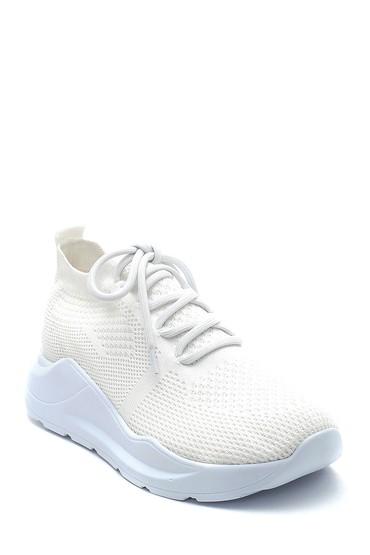 Beyaz Kadın Çorap Sneaker 5638291863