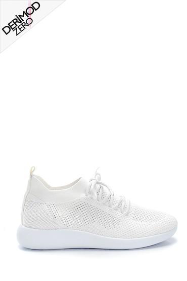 Beyaz Kadın Çorap Sneaker 5638273513