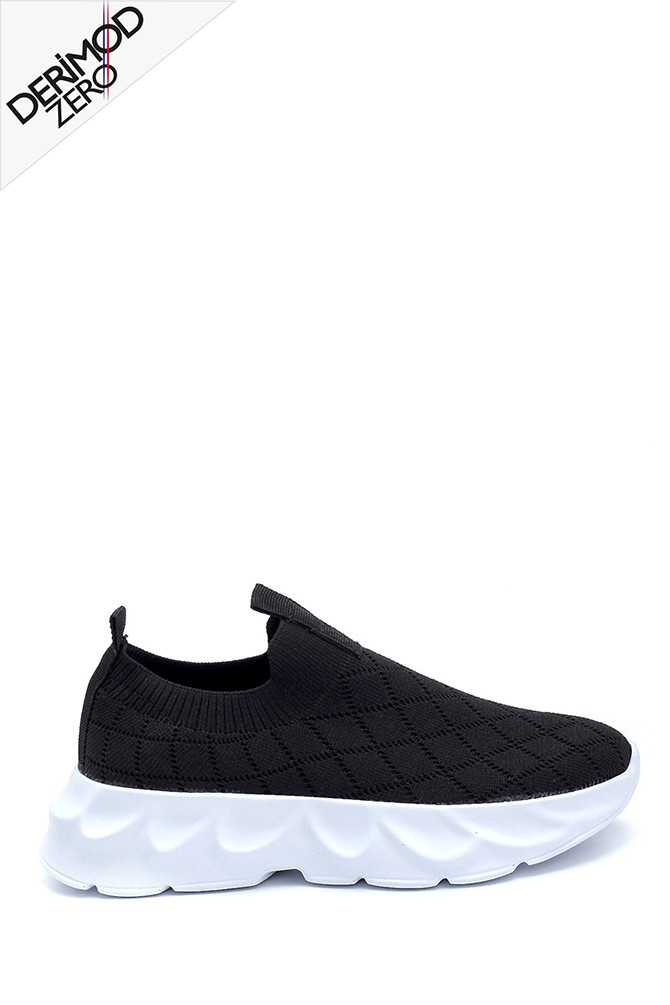 Siyah Kadın Çorap Sneaker 5638291719