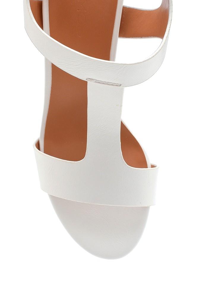 5638262564 Kadın Kalın Topuklu Casual Sandalet