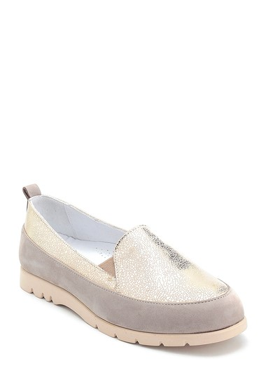 Vizon Kadın Casual Deri Ayakkabı 5638298098
