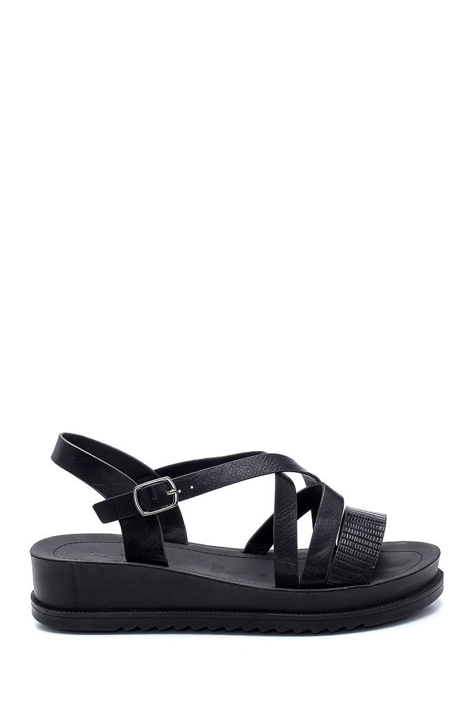 Siyah Kadın Casual Sandalet 5638263048