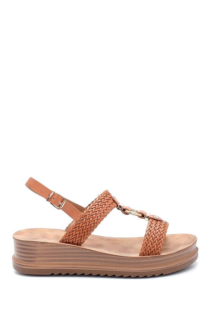 Taba Kadın Casual Sandalet 5638263067