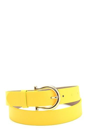 Sarı Kadın Casual Kemer 5638307097
