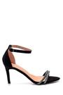 5638263603 Kadın Taş Detaylı Topuklu Sandalet