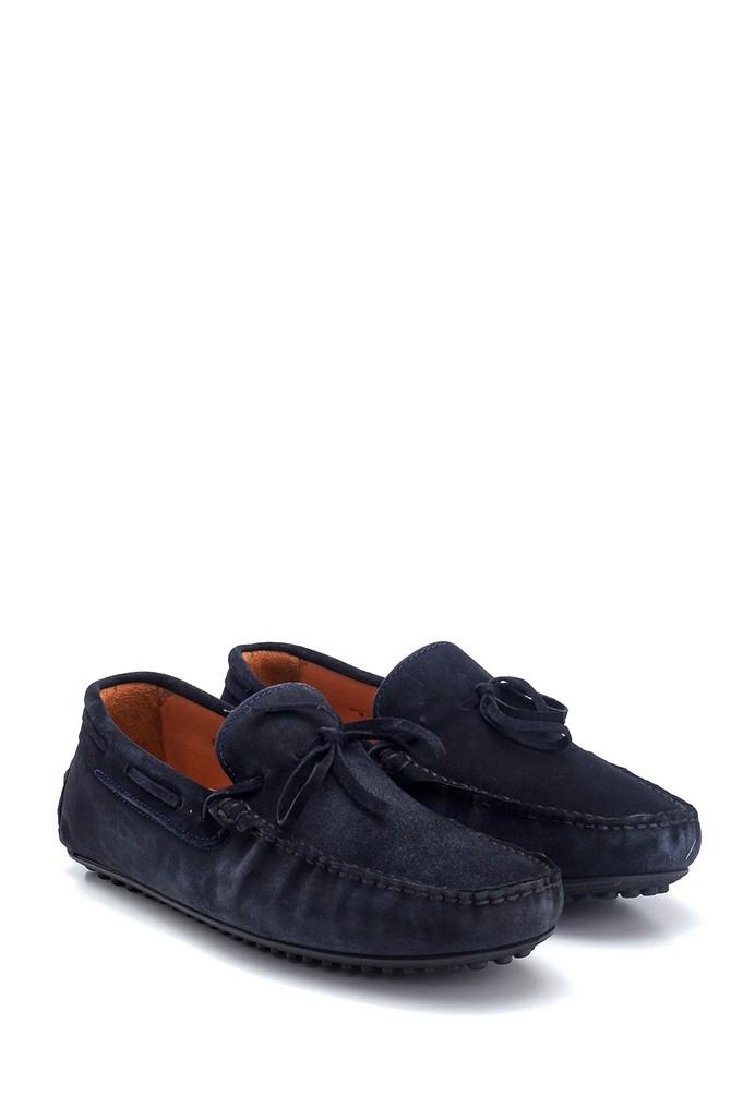 5638127412 Erkek Süet Deri Loafer