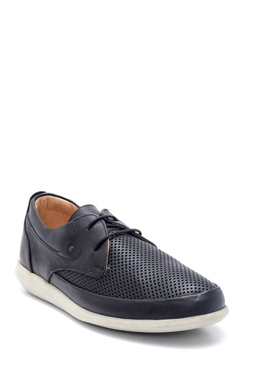 Siyah Erkek Casual Deri Ayakkabı 5638135362