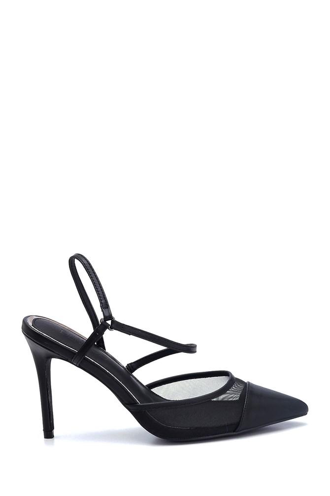 Siyah Kadın Klasik Topuklu Ayakkabı 5638128947