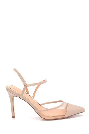 Bej Kadın Klasik Topuklu Ayakkabı 5638128946