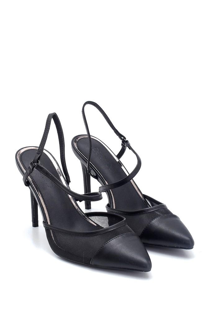 5638128947 Kadın Klasik Topuklu Ayakkabı