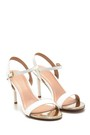 5638128966 Kadın Klasik Topuklu Sandalet