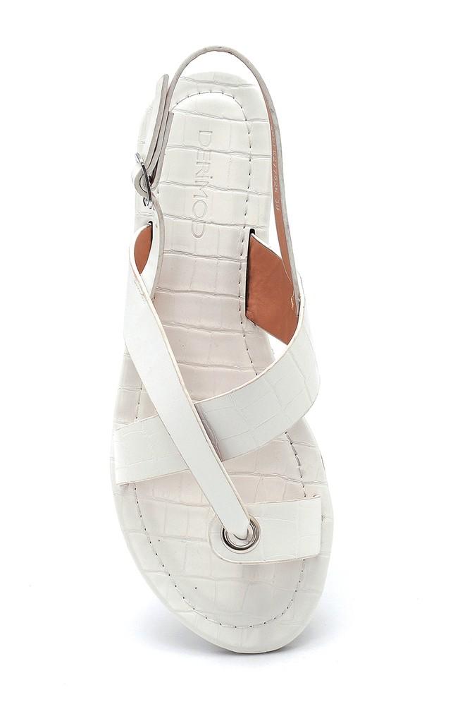 5638262232 Kadın Casual Desenli Sandalet
