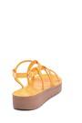 5638263092 Kadın Casual Kroko Desenli Sandalet