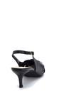 5638293673 Kadın Klasik Topuklu Deri Ayakkabı