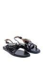 5638137401 Kadın Casual Taş Detaylı Sandalet