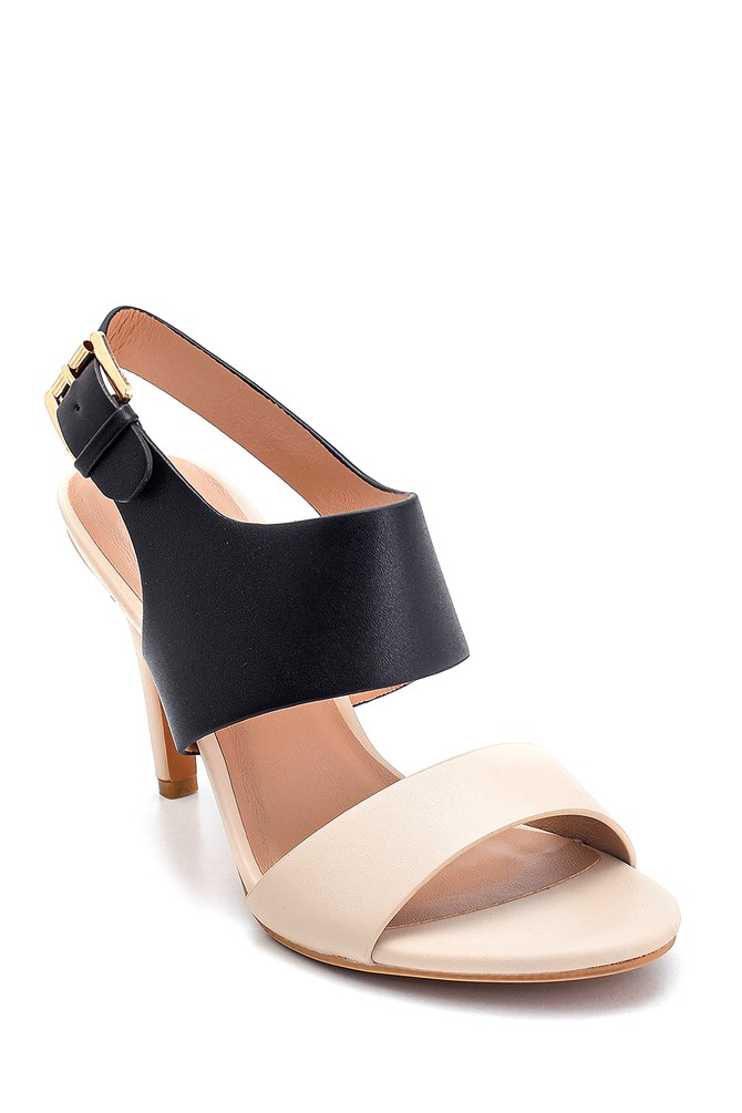 5638261207 Kadın Casual Topuklu Sandalet