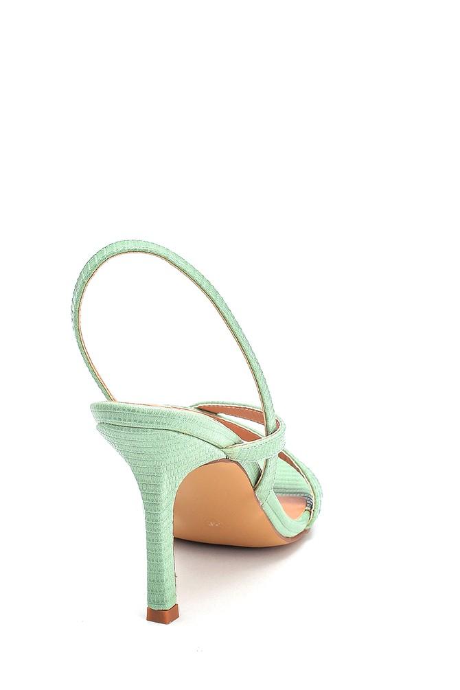 5638263666 Kadın Casual Topuklu Sandalet