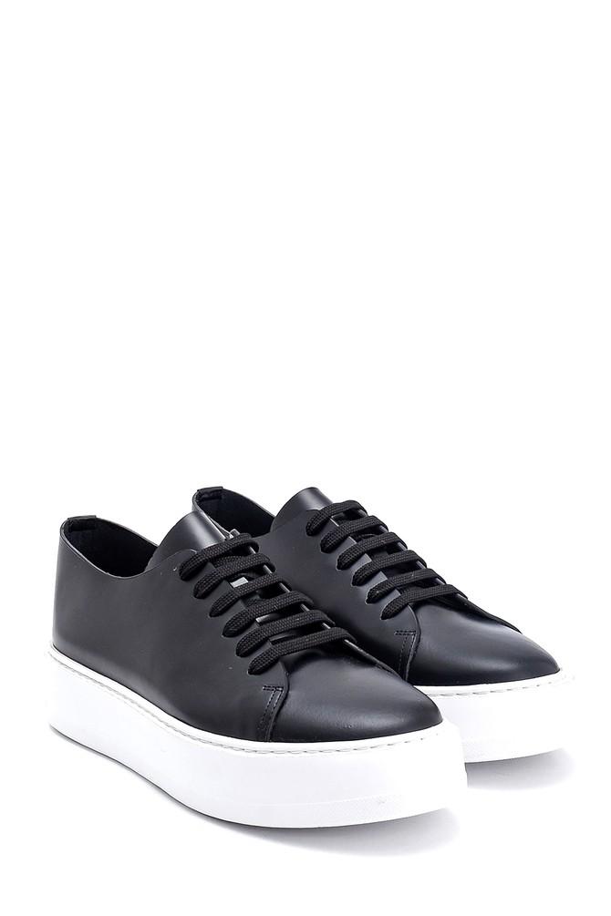 5638275558 Erkek Deri Sneaker