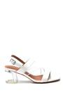 5638262500 Kadın Casual Şeffaf Topuklu Sandalet
