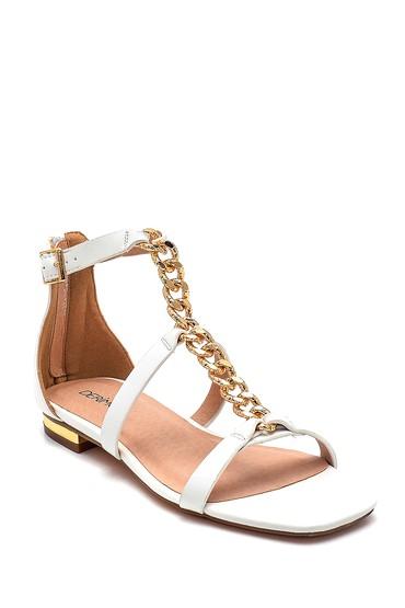 Bej Kadın Casual Sandalet 5638267337