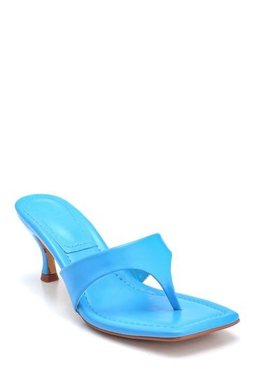 Mavi Kadın Casual Topuklu Terlik 5638268572
