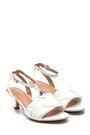 5638268655 Kadın Örgü Detaylı Topuklu Sandalet