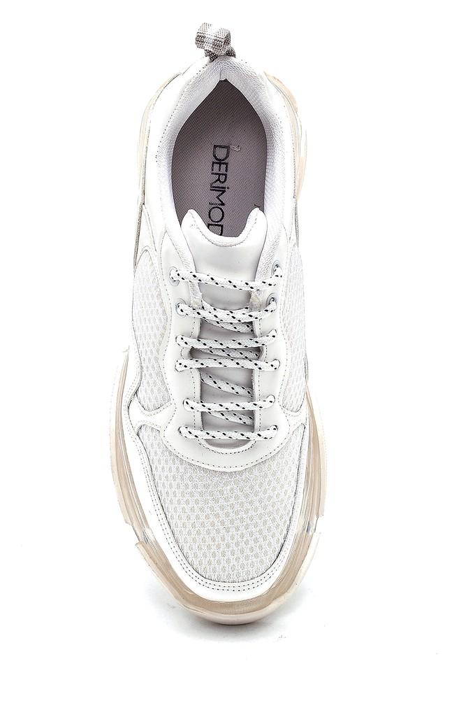 5638294411 Kadın Şeffaf Taban Detaylı Sneaker
