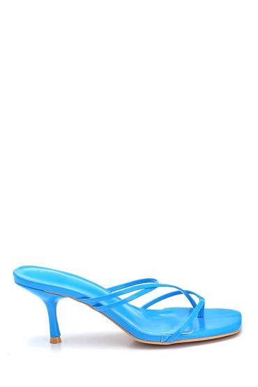 Mavi Kadın Casual Topuklu Terlik 5638281338