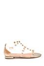 5638135671 Kadın Taş Detaylı Casual Sandalet