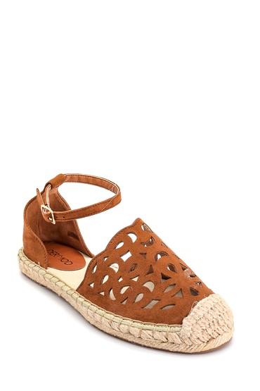 Taba Kadın Hasır Tabanlı Sandalet 5638135911