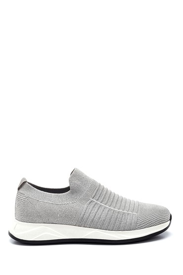 Gri Erkek Çorap Sneaker 5638275083