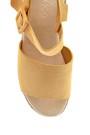 5638261371 Kadın Hasır Tabanlı Casual Sandalet