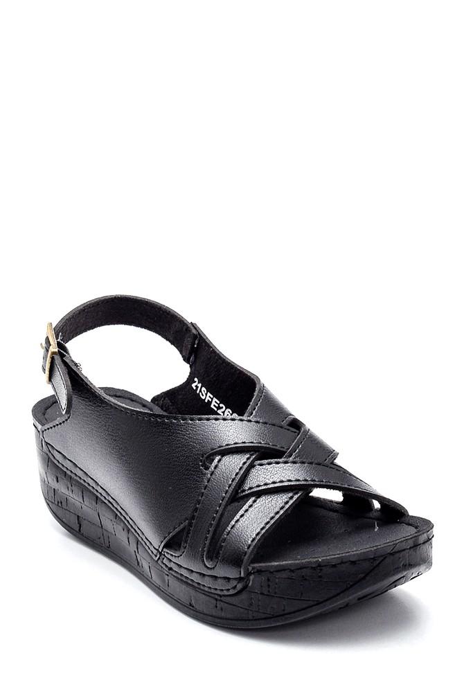 5638299605 Kadın Casual Dolgu Topuk Sandalet