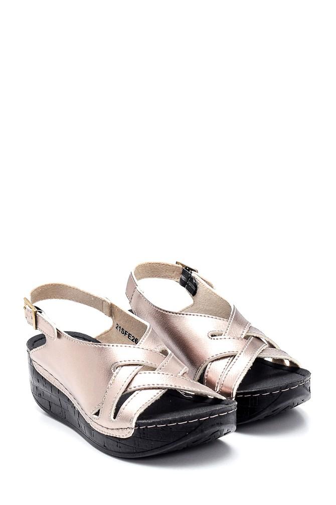 5638305729 Kadın Casual Dolgu Topuk Sandalet