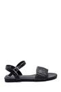 5638259010 Kadın Örgü Detaylı Casual Sandalet