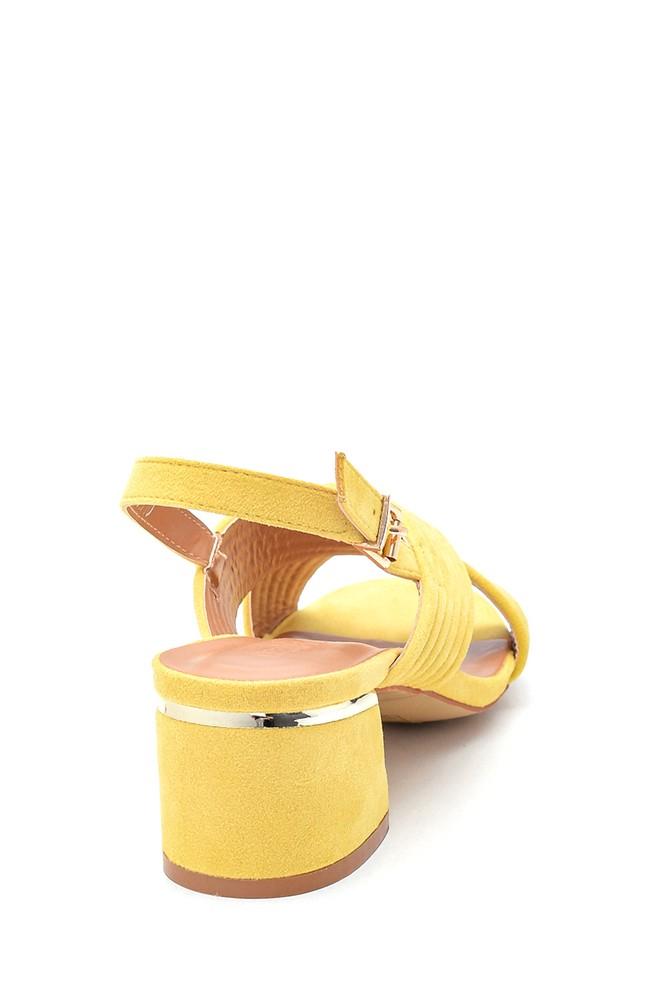 5638262471 Kadın Casual Topuklu Sandalet