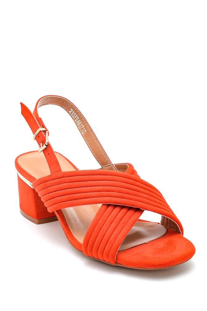 5638262485 Kadın Casual Topuklu Sandalet