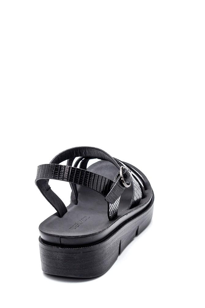 5638263226 Kadın Dolgu Topuk Casual Sandalet