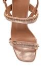 5638263537 Kadın Taş Detaylı Casual Topuklu Sandalet