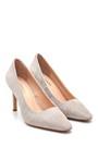 5638297633 Kadın Süet Deri Topuklu Ayakkabı