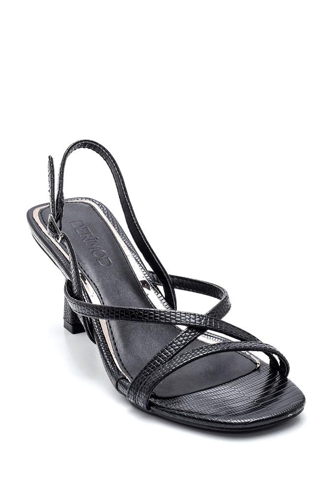 5638259192 Kadın Casual Topuklu Sandalet