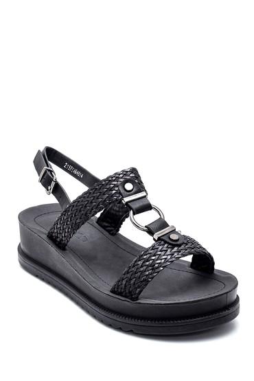 Siyah Kadın Casual Sandalet 5638263073