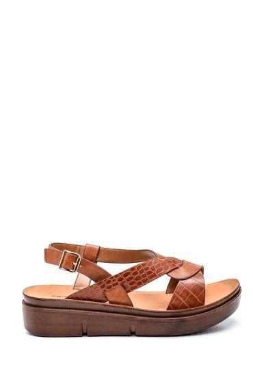 Taba Kadın Casual Sandalet 5638263287