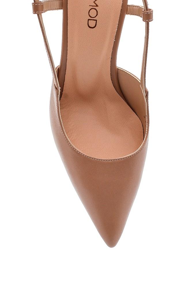 5638297614 Kadın Casual Topuklu Deri Ayakkabı