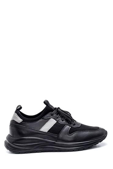 Siyah Erkek Deri Sneaker 5638318528